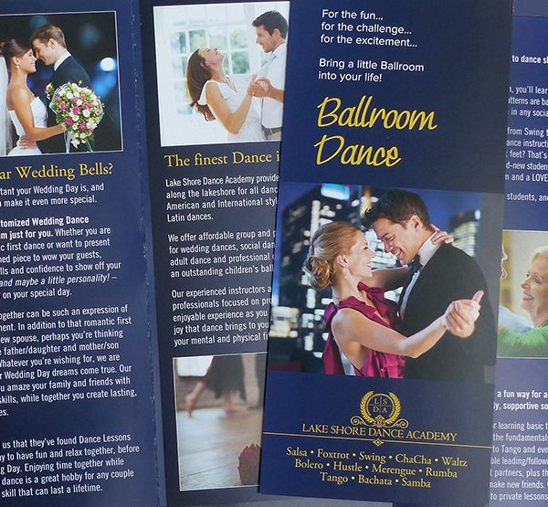 Lake Shore Dance Academy brochure